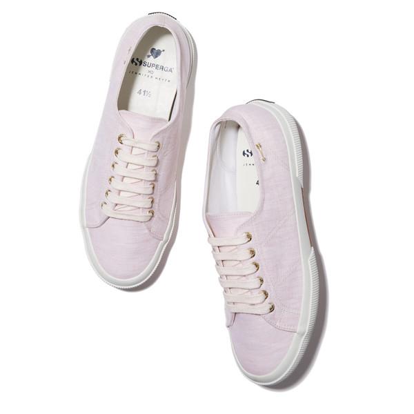 Jennifer Meyer's Pink Sneakers