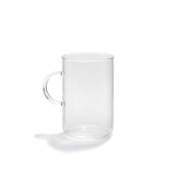 Large German Glass Mug