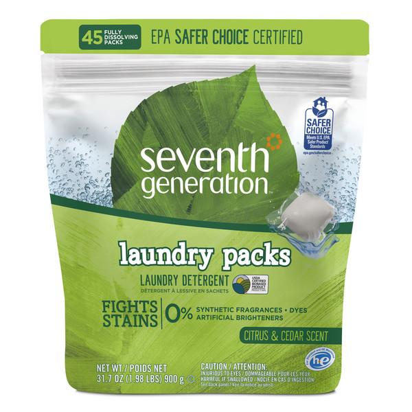 Laundry Detergent Packs Citrus & Cedar