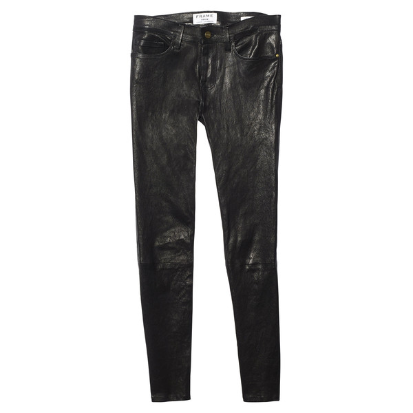 le skinny leather pant