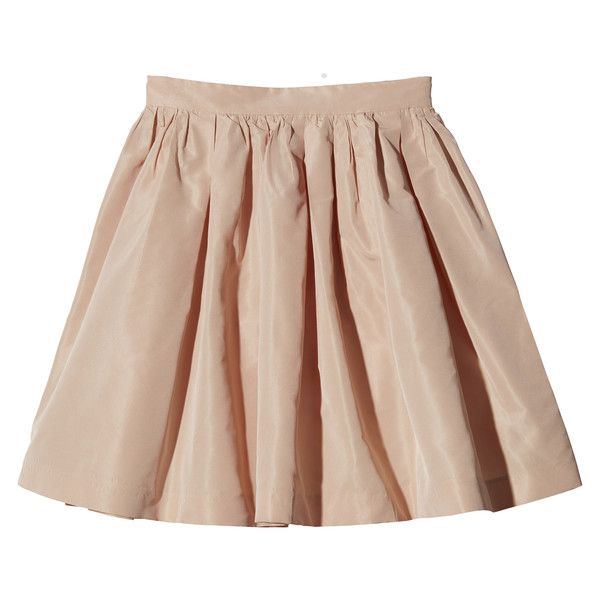 Lena Dunham's Pale Pink Skirt