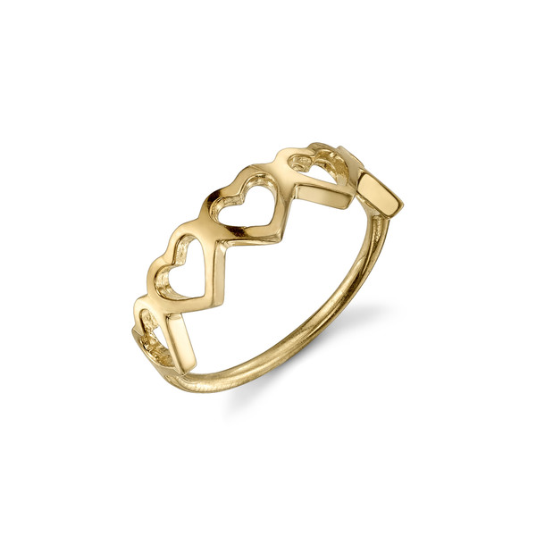 Love Count Multi Heart Ring