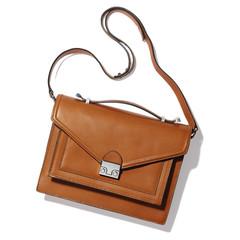 medium flapover satchel