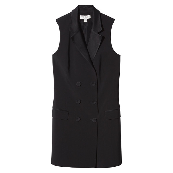 Rachel Zoe's Black Dress W/ Buttons