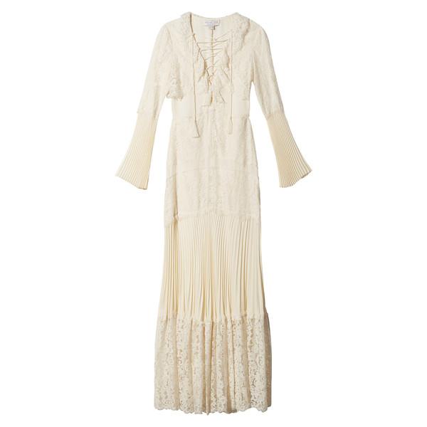 Rachel Zoe's Cream Lace Maxi Dress