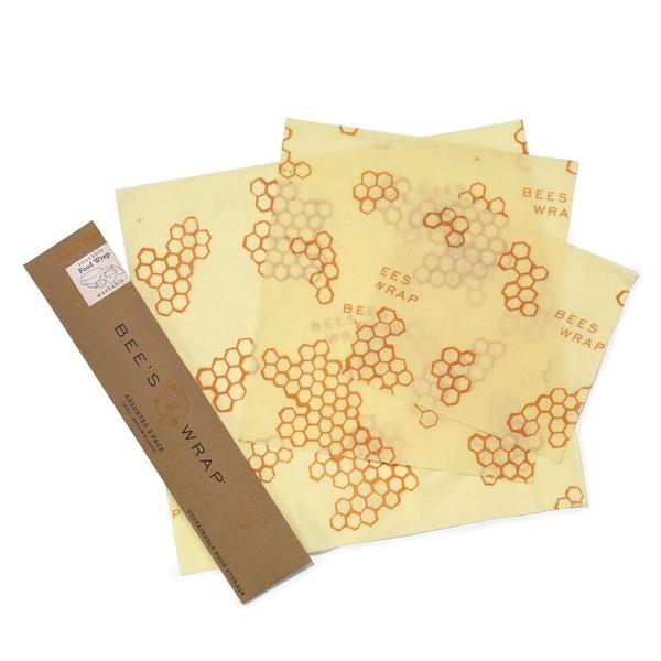 Reusable Beeswax Wrap Set