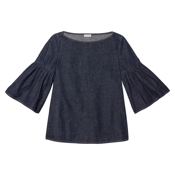 Shirred Sleeve Tunic