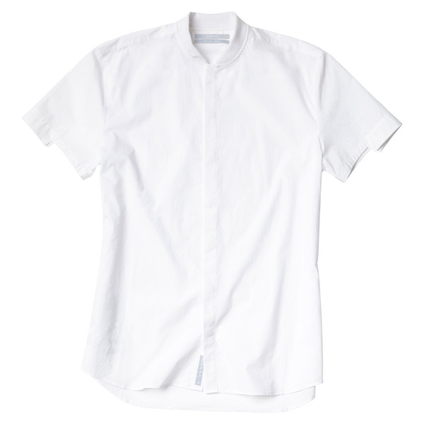 Short Sleeve Rib Neck Shirt