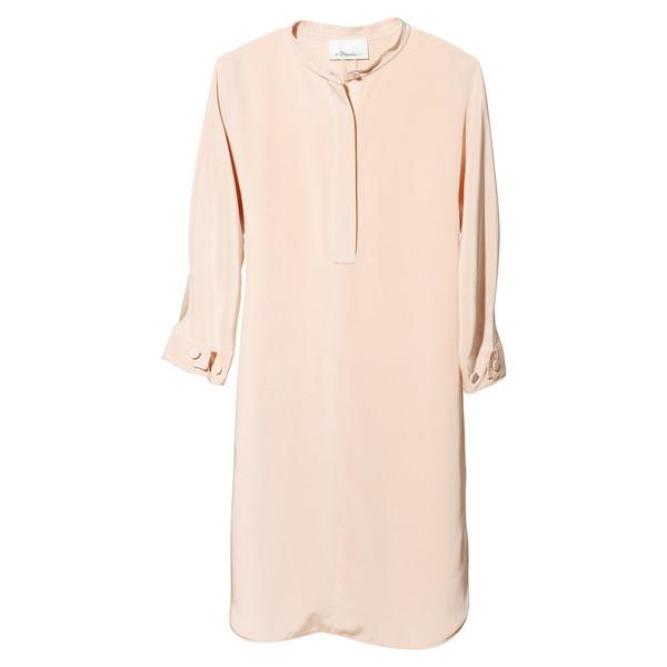 silk tunic dress
