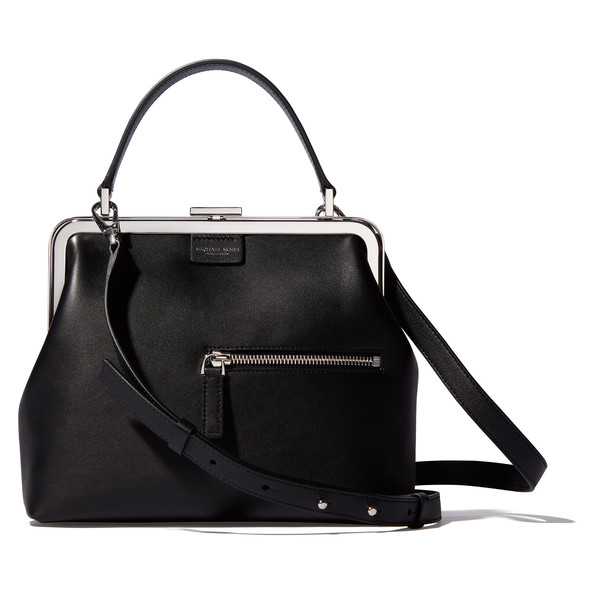Small Frame Top Handle Satchel