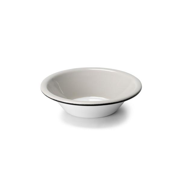 Small Painted Enamel Bowl