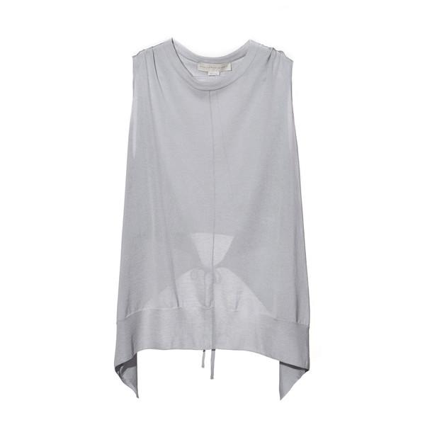 Stella McCartney's Draped asymmetrical shirt