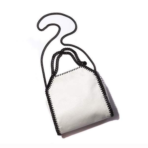Stella McCartney's Suede chain link purse