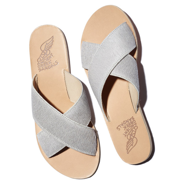 thais sandal in grey pony