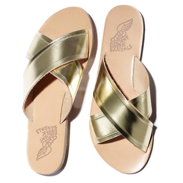 thais sandal in platinum