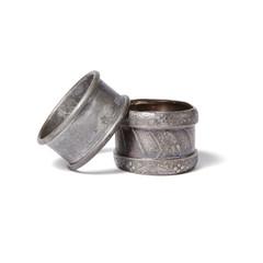 Vintage Napkin Rings Set of 2
