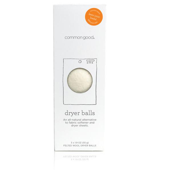 COMMON GOOD Woolen Dryer Balls