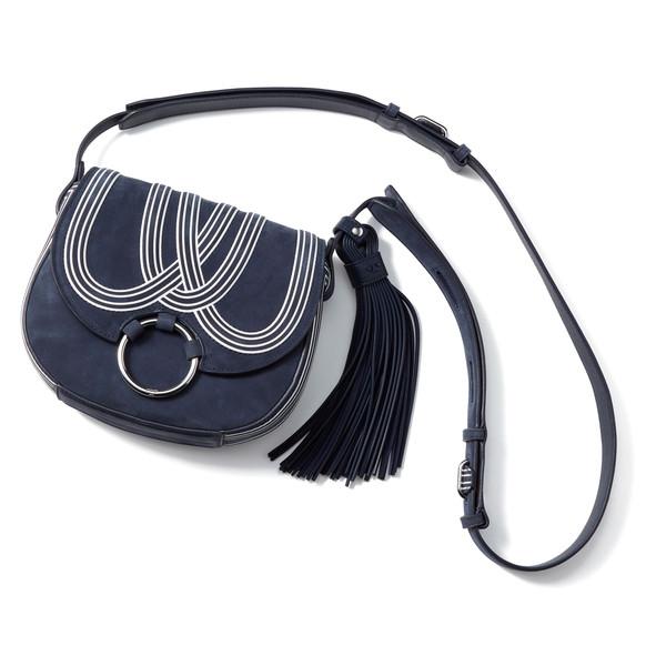 Bombe Stripe Mini Saddle Bag