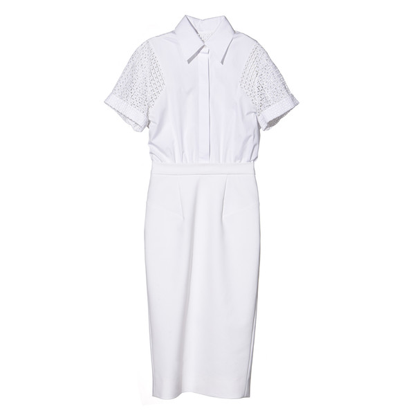 GP's Dress with laser cut sleeves