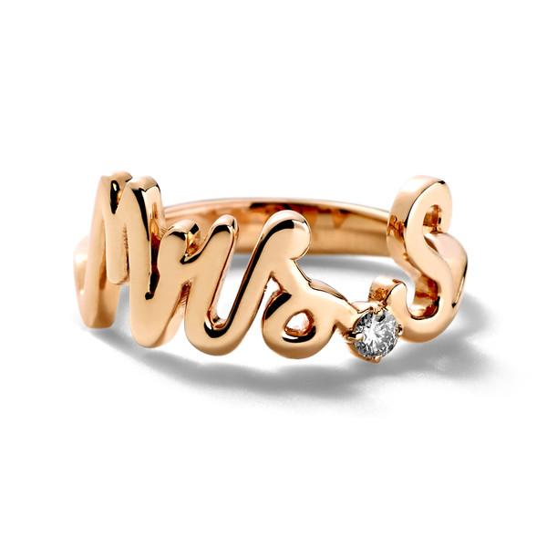 Mrs. Ring Rose Gold