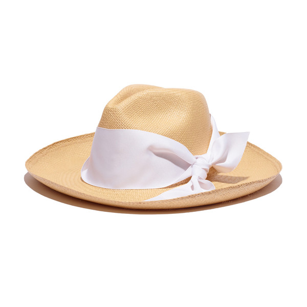 Panama Hat with Long Brim