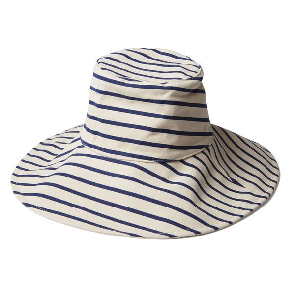 Reversible Sunhat Navy White