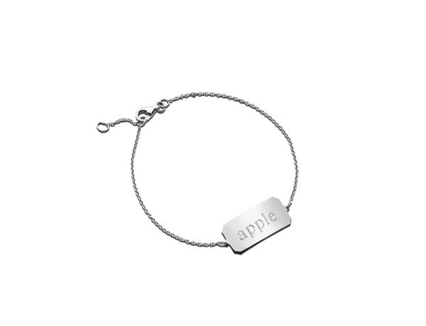 sheena id bracelet Sterling Silver