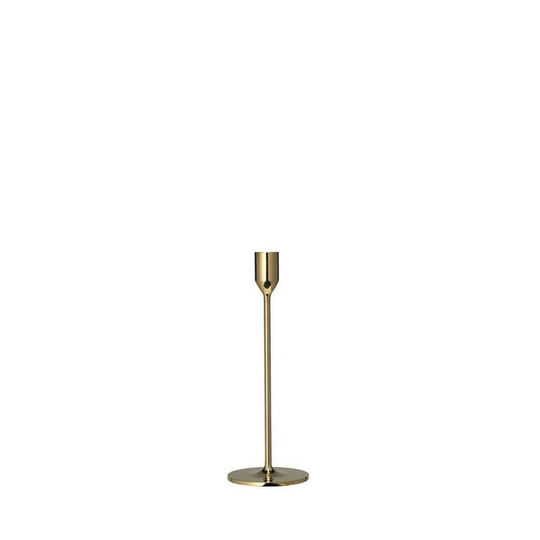 Short Solid Brass Candle Holder