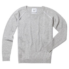 Sloppy Jojo Crewneck Sweater Grey