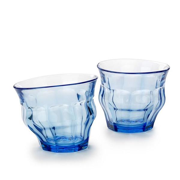 Tipsy Duralex Cups Blue