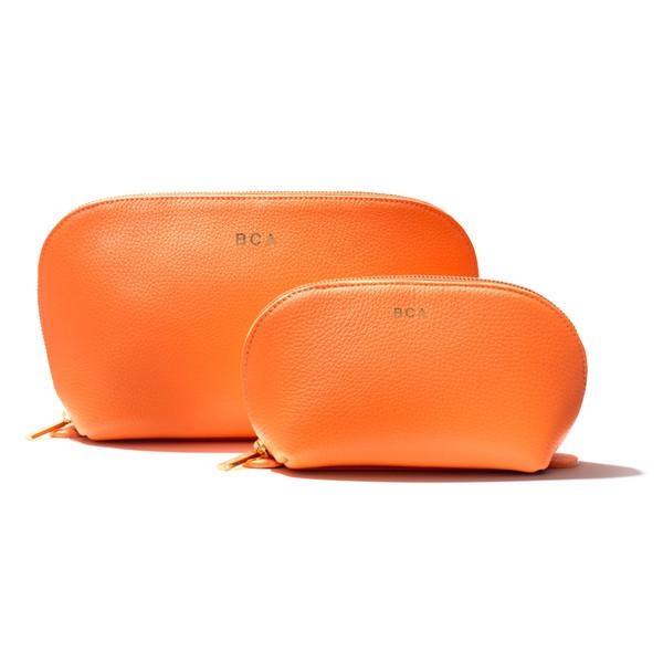 travel case set Orange