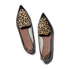 Verona Pointed Toe Smoking Shoe Leopard