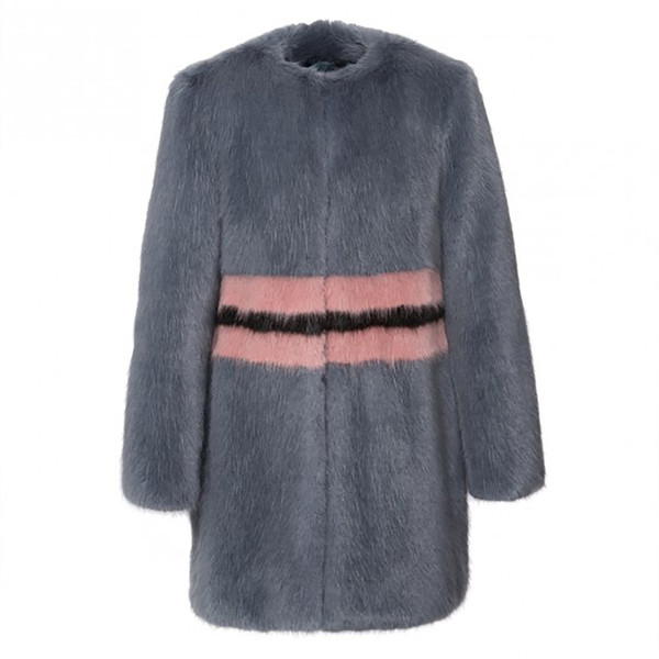Agnes Faux-Fur Coat