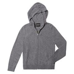Cashmere Zip-Up Hoodie
