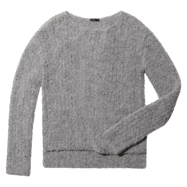 Cozy Open-Neck Pullover
