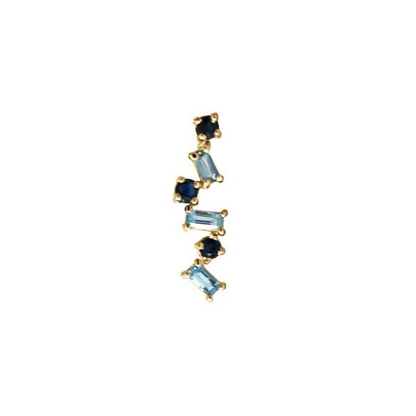 Gemini Gemstone Pin / Stud