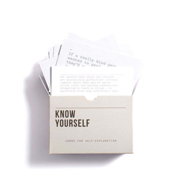 Know Yourself Playing Cards
