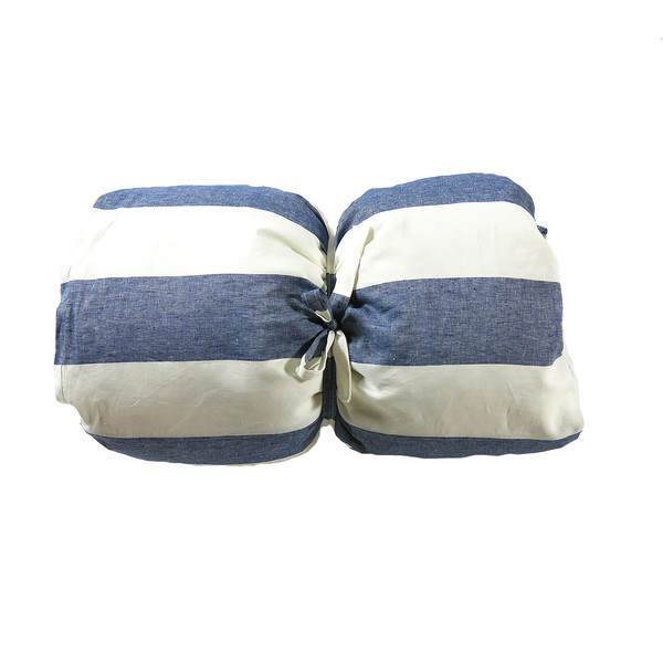 Linen Roll-Up Throw Bed