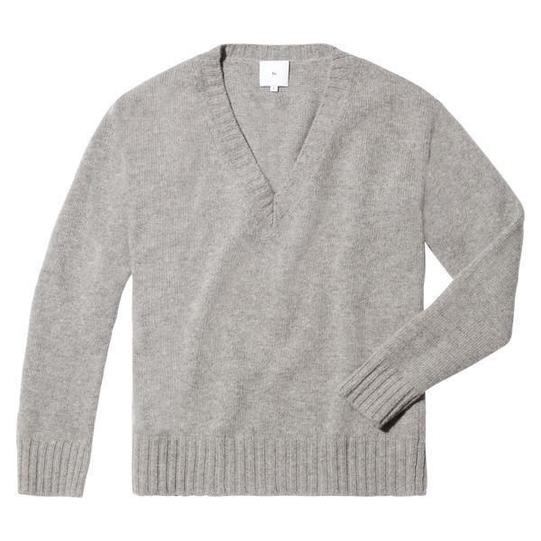 Thea Oversized V-Neck Sweater