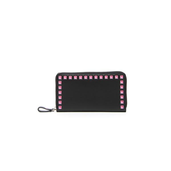 Vitello Two-Tone Continental Zip Wallet