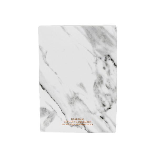 White Marble Planner