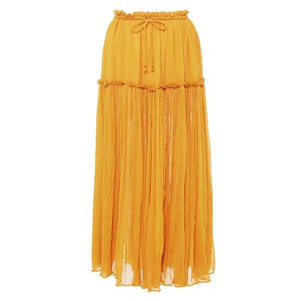Dulce Accordion Midi Skirt