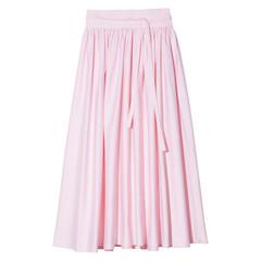 High Waist Peasant Skirt