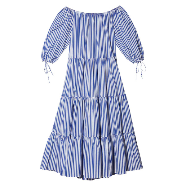 Tiered Peasant Dress