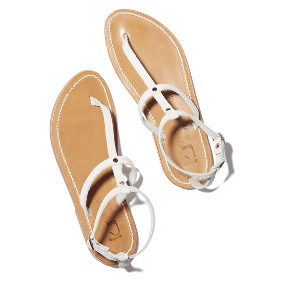 Swan sandals