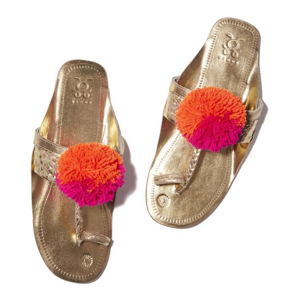 Leo Pom Pom sandal