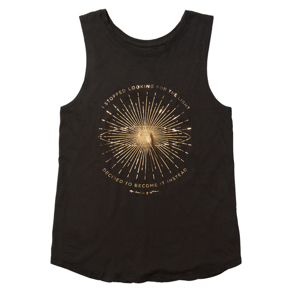 Supernova light tank top