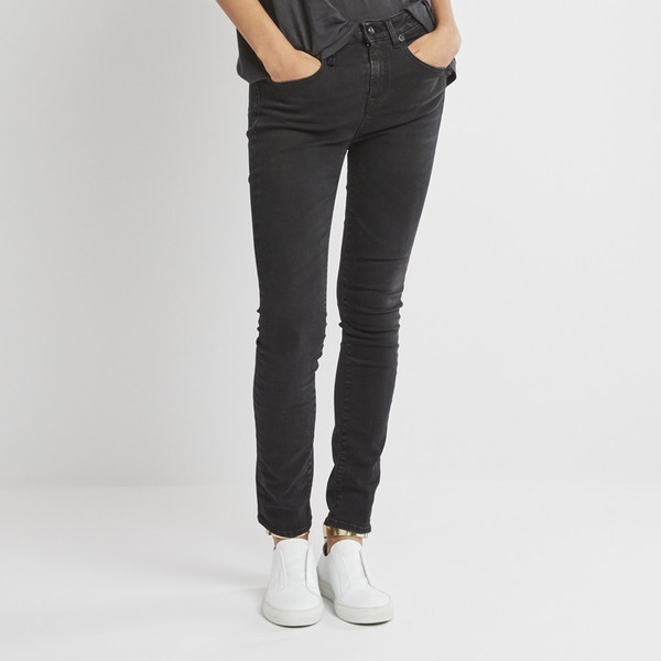The Jenny Mid-Rise Skinny Jeans