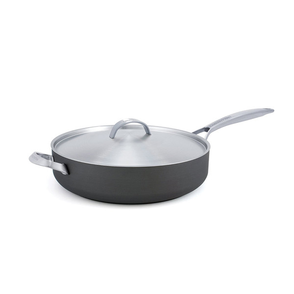 Paris Pro 4QT Ceramic Non-Stick Saute_ Pan with Helper Handle
