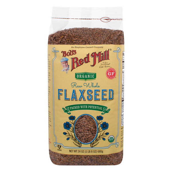 Organic Flax Seeds Brown